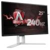 Монитор AOC AGON AG251FZ, черно-красный, купить за 25 760руб.