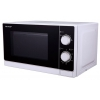 Микроволновая печь Sharp R-2000RW, белая с черным, купить за 3 740руб.