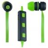 Наушники Perfeo Sound Strip, Зелено-черные, купить за 850руб.