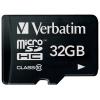 Карта памяти Флеш-карта Verbatim microSDHC Class 10 32Gb, купить за 775руб.