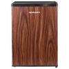 Холодильник Shivaki SDR-062T, темное дерево, купить за 9 910руб.