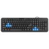 Клавиатура Defender HM-430 USB, черная, купить за 440руб.