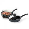 Сковорода Нева Металл Посуда 7722 22 см (с крышкой), купить за 1 355руб.