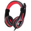 Гарнитура для пк Oklick HS-L200, черно-красная, купить за 1 070руб.