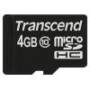 Transcend TS4GUSDC10 4Gb class 10, купить за 700руб.