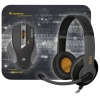 Defender Warhead MPH-1500 USB (+ коврик и наушники), черный, купить за 1 150руб.