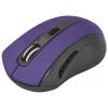 Мышка Defender MM-965 USB, фиолетовая, купить за 400руб.