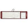 Dialog KK-L04U Red USB, Multimedia (с подсветкой клавиш), купить за 1 160руб.