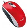 Мышку Genius DX-110 USB, красная, купить за 605руб.