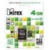 Mirex microSDHC Class 10 4GB + SD adapter, Черная, купить за 635руб.