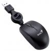 Мышка Genius Micro Traveler, Черная, купить за 725руб.