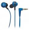 Наушники Audio-Technica ATH-COR150, синие, купить за 1 095руб.