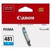 Картридж Canon CLI-481 C (Cyan), голубой, купить за 990руб.