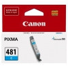 Картридж для принтера Canon CLI-481 C (Cyan), голубой, купить за 880руб.