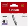 Картридж Canon CLI-481 PB, голубой фото, купить за 1 005руб.
