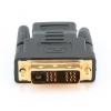 Кабель Gembird A-HDMI-DVI-2 (DVI-D SL - HDMI, M/F), чёрный, купить за 450руб.