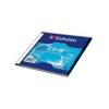 Оптический диск Verbatim CD-R 700 Мб, slim case (1 шт), купить за 225руб.