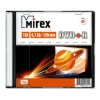 Оптический диск Mirex DVD+R 4.7 Gb, Slim Case, UL130013A1S, (1 шт), купить за 220 руб.