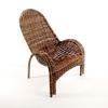 Кресло садовое Торг-хаус Супер-Релакс (ротанговое), купить за 6 340руб.