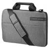 Сумка для ноутбука HP Signature Slim Topload 14, серая с черным, купить за 1 765руб.