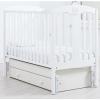 Детская кроватка Гандылян Диана (универсальный маятник), белая, купить за 17 640руб.
