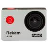Экшн-камера Rekam A100, серебристая, купить за 2 800руб.