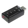 Звуковая карта ASIA TRUA71 USB (C-Media CM108, стерео, 44-48KHz), купить за 525руб.