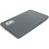 Корпус для внешнего жесткого диска AgeStar 3UB2A8 (2.5'', SATA - microUSB3.0b), чёрный, купить за 870руб.