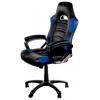 Игровое компьютерное кресло Arozzi Enzo, черно-синее, купить за 15 000руб.