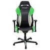 Игровое компьютерное кресло DXRacer Drifting OH/DM61/NWE, зеленое с черным и белым, купить за 28 990руб.