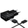 Зарядное устройство Samsung EP-TA20EBECGRU, черное, купить за 1 240руб.