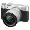 Цифровой фотоаппарат Fujifilm X-A10 Kit 16-50, серебристый, купить за 24 180руб.