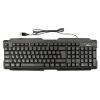 Клавиатура Ritmix RKB-121 USB, черная, купить за 390руб.