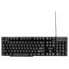 Клавиатура Гарнизон GK-200G, черная, купить за 770руб.