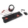 Комплект Genius GX Gaming KMH-200, черный, купить за 1 835руб.