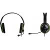 Гарнитура для пк Genius HS-400A, черная с зеленым, купить за 950руб.