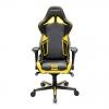 Игровое компьютерное кресло DXRACER OH/RV131/NY черное/желтое RACING, купить за 32 990руб.