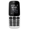 Сотовый телефон Nokia 105 Dual sim (2017) TA-1034, белый, купить за 1 415руб.