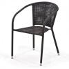 Кресло садовое Afina Y137B темно-коричневое, купить за 3 685руб.