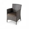 Кресло садовое Afina Y189B коричневое, купить за 10 150руб.