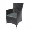 Кресло садовое Afina Y189D черное, купить за 10 150руб.