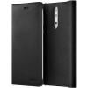 Чехол для смартфона Nokia 8 Leather Flip Cover черный, купить за 455руб.