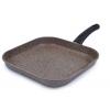 Сковорода TVS Art granit AT-7128 28 х 28 см (для гриля), купить за 2 625руб.