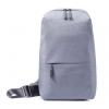 Сумка для ноутбука Xiaomi Mi City Sling Bag, светло-серый, купить за 1 400руб.