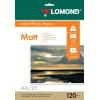 Фотобумага Lomond 0102030 (A4, 120г/м2, 25 листов), купить за 830руб.
