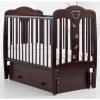 Детская кроватка Гандылян Мишель (маятник), махагон, купить за 22 575руб.