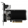 Видеокарта geforce Palit GeForce GT 710 954Mhz PCI-E 2.0 2048Mb 1600Mhz 64 bit DVI HDMI HDCP Silent, купить за 2 690 руб.