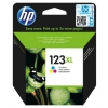 Картридж для принтера HP 123XL Цветной (увеличенной емкости), купить за 2255руб.