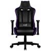 Игровое компьютерное кресло Aerocool AC220 RGB-B с перфорацией, с RGB подсветкой черное, купить за 17 100руб.