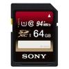 Карту памяти SDHC Sony SF-64UX/T 64Gb, купить за 3320руб.